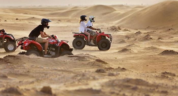 Dune Buggy in the desert