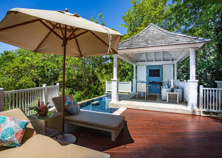 Ocean View Pool Villa exterior