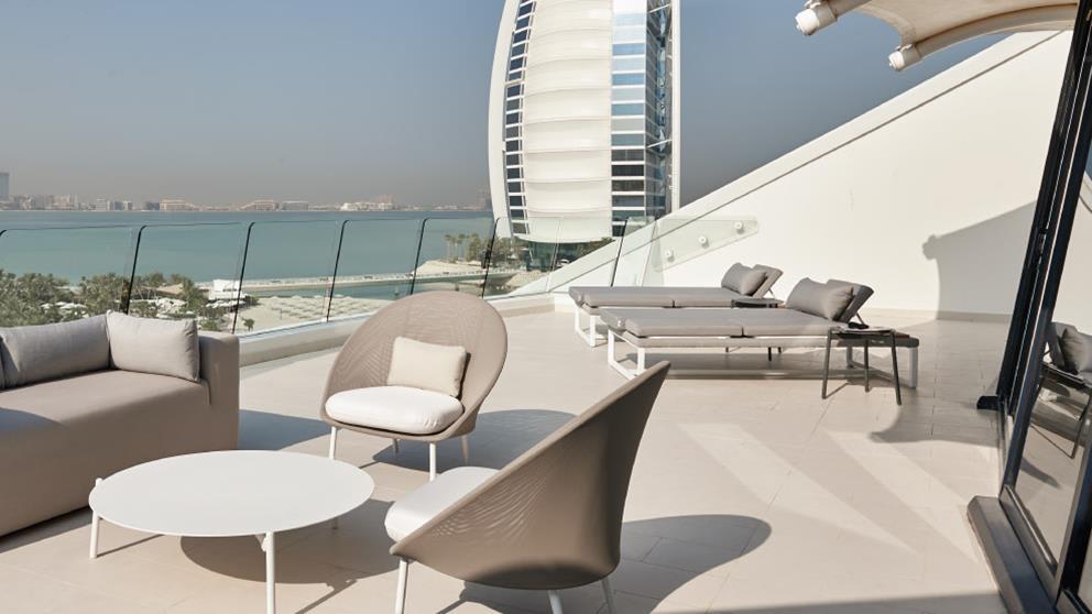 Three bedroom Ocean Suite terrace