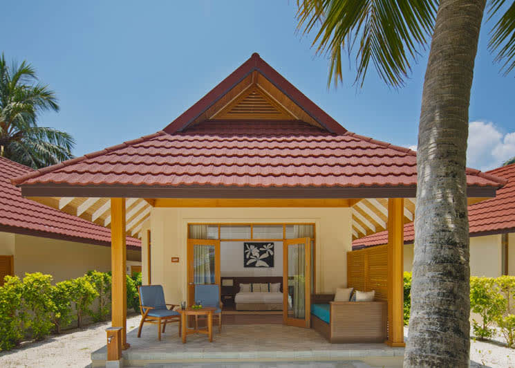 Deluxe Beachfront bungalow exterior