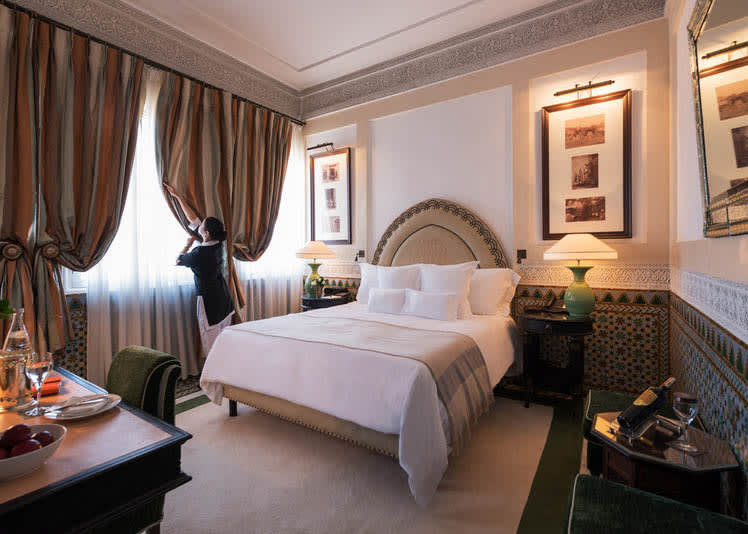 Superior Room bedroom