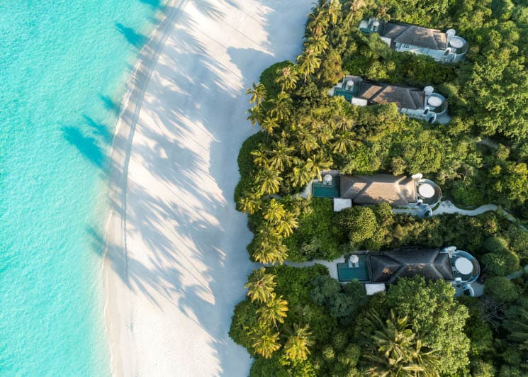Beach Pool Villas  Aerial