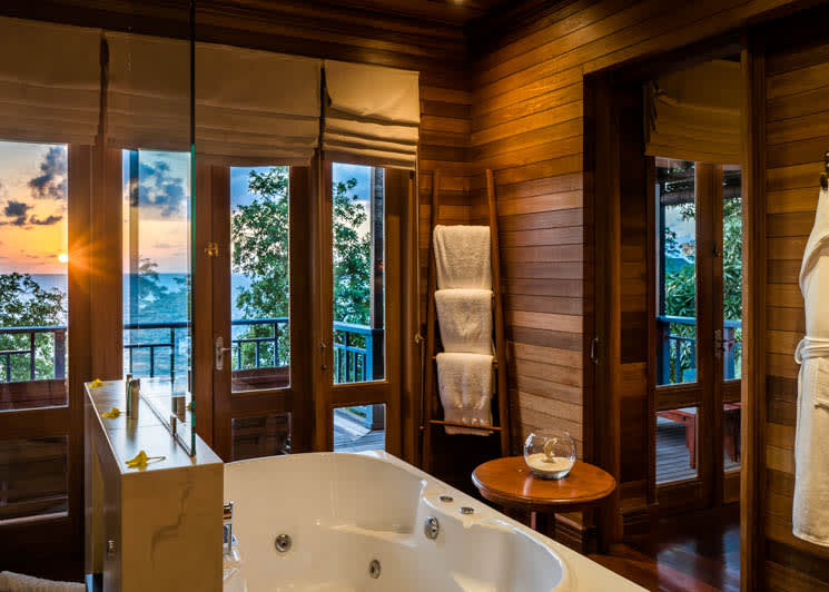 King sunset villa bathroom