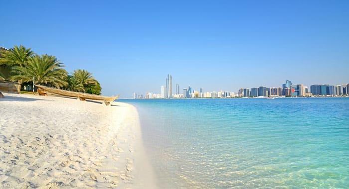 Saadiyat island beach