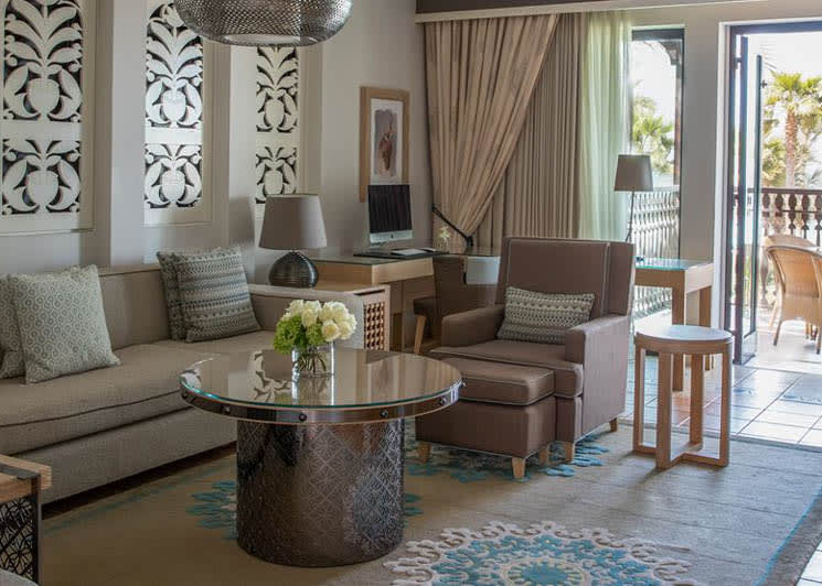 Gulf Summerhouse Ocean Suite living