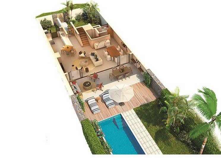 3 Bedroom Deluxe Villa