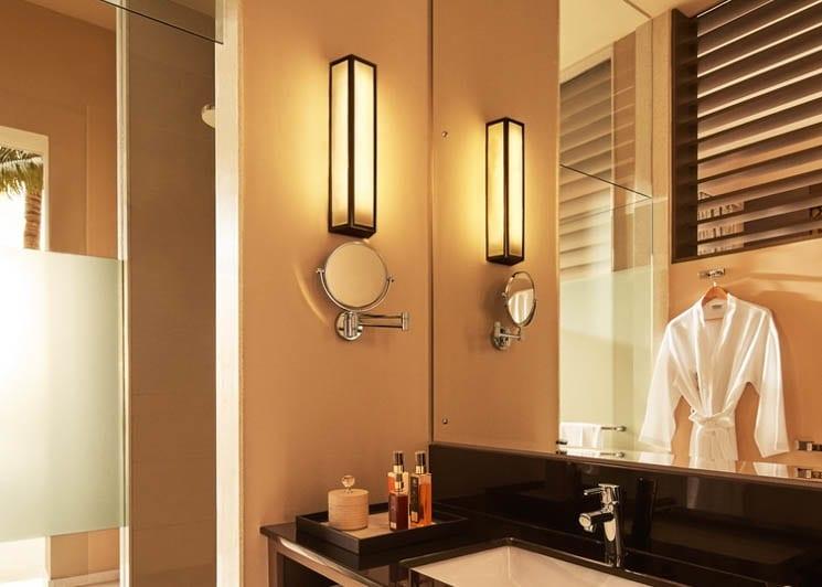 Deluxe Room shower
