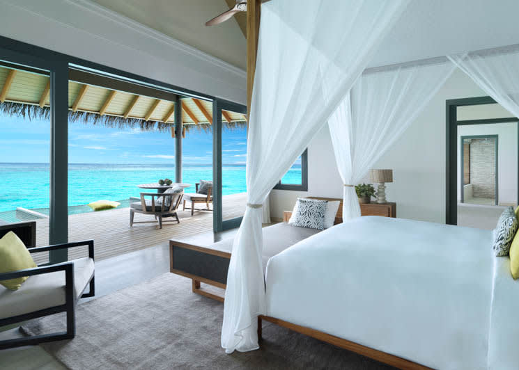 Over Water Family Bedroom