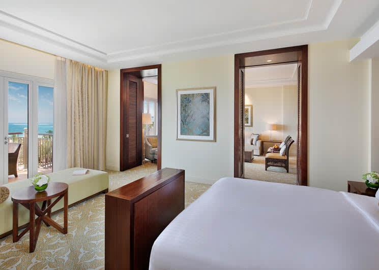 The Ritz Carlton, Dubai, JBR   One Bedroom Club Suite   Ocean View
