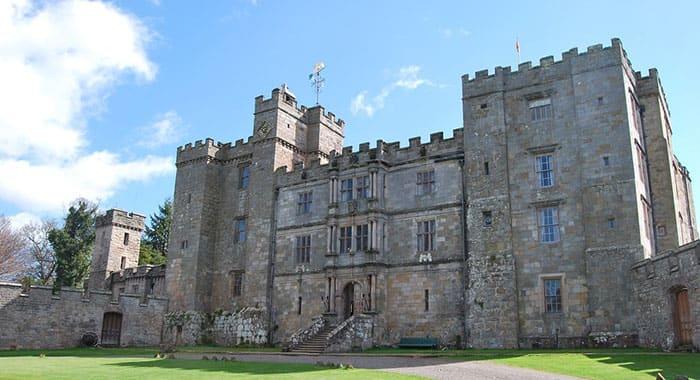 Exterior of Chillingham Castle