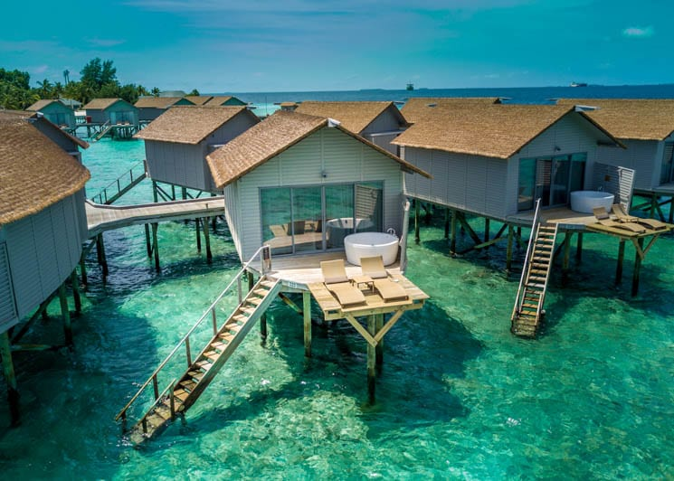 Deluxe Spa overwater villa