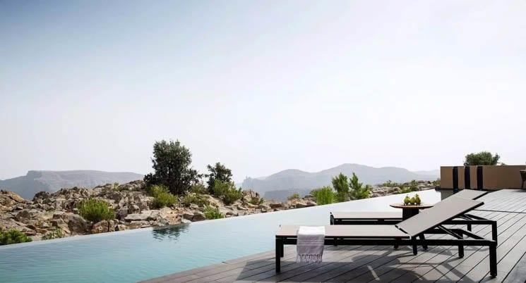 Cliff Pool Villa terrace