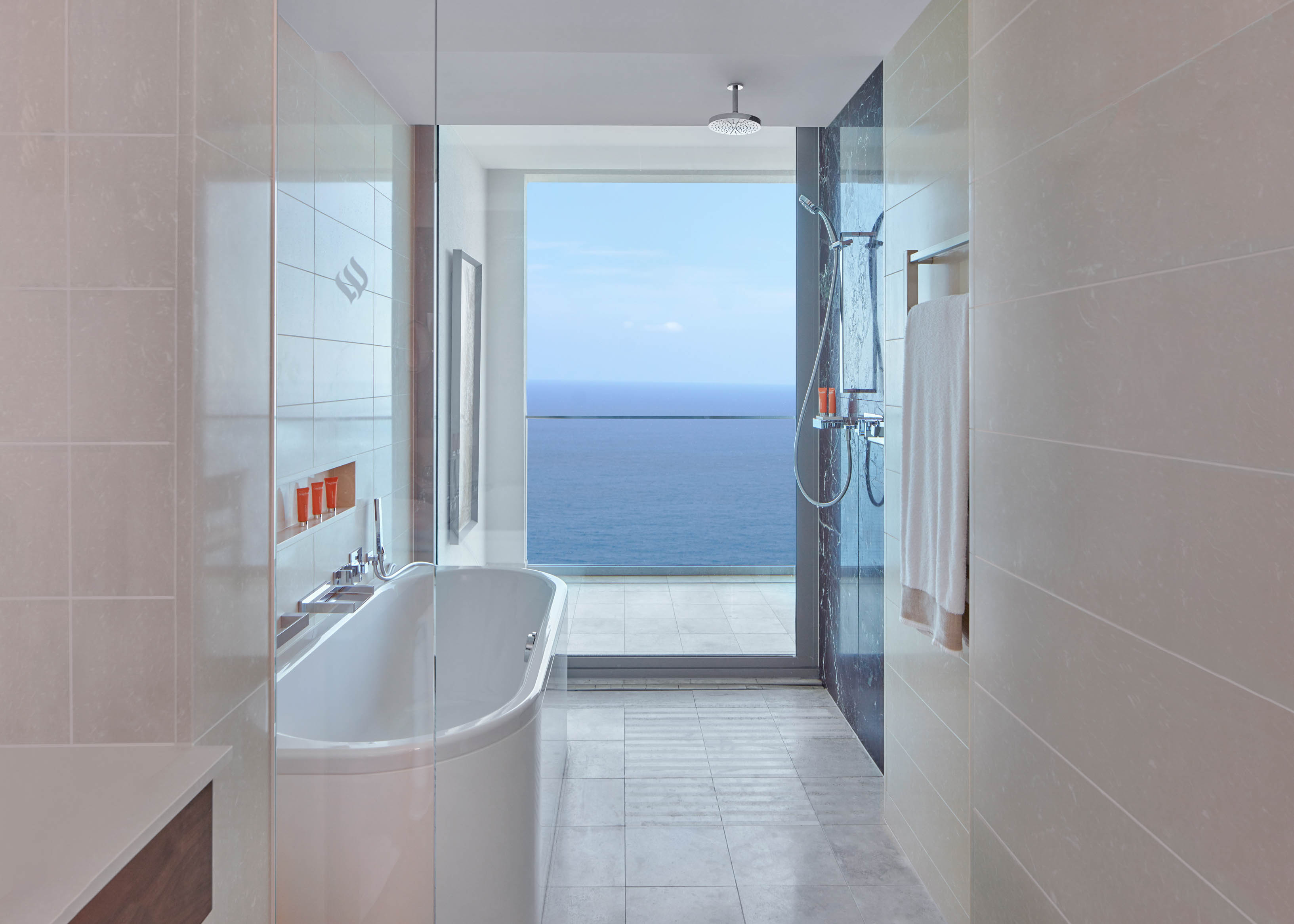 Deluxe Sea View  bathroom view