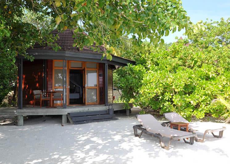 Beach Villa sun beds