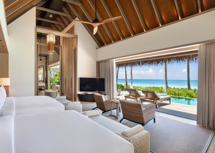 Beach Villa queen beds