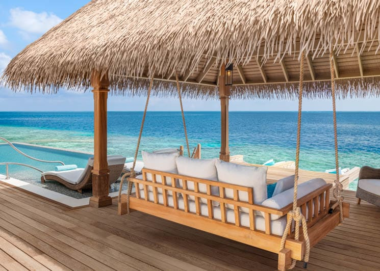 Reef and Overwater Villa Pavilion
