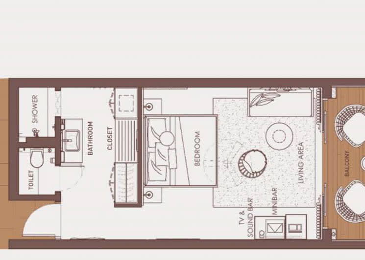 Silver Sky Studio floor plan