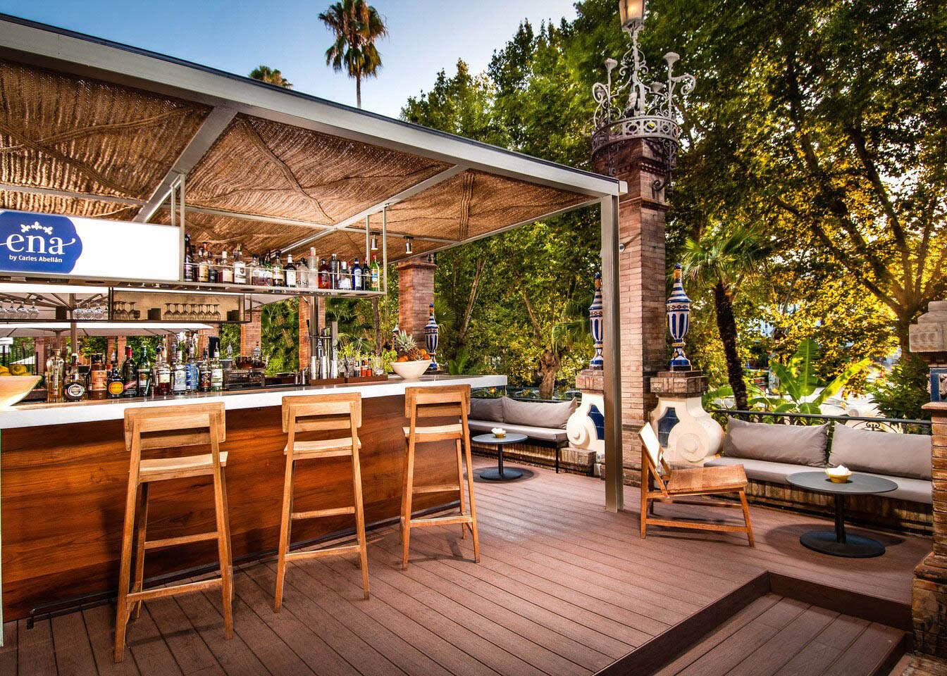 Ena restaurant outdoors