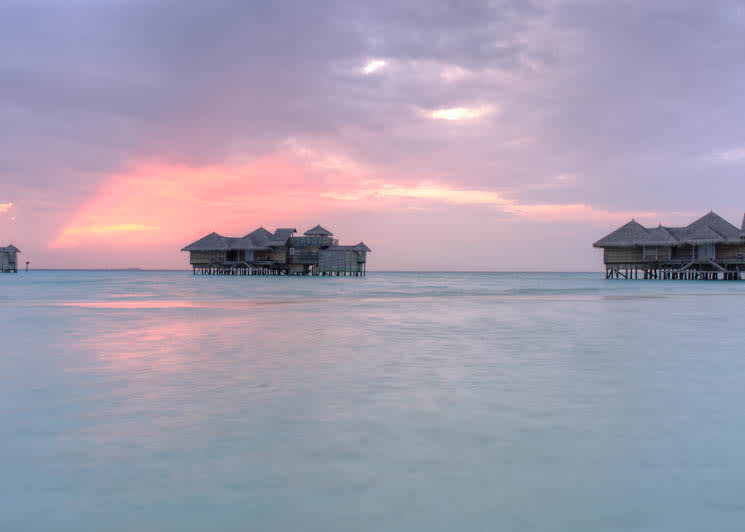 Crusoe Residence sunset