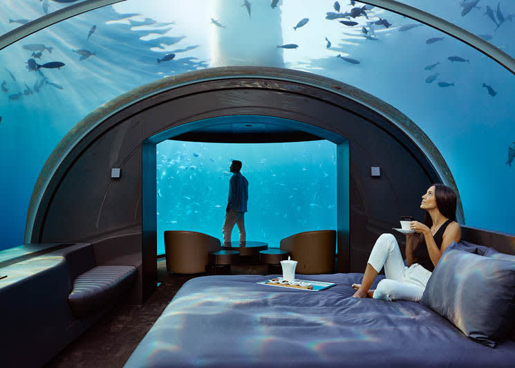 The Muraka undersea bedroom