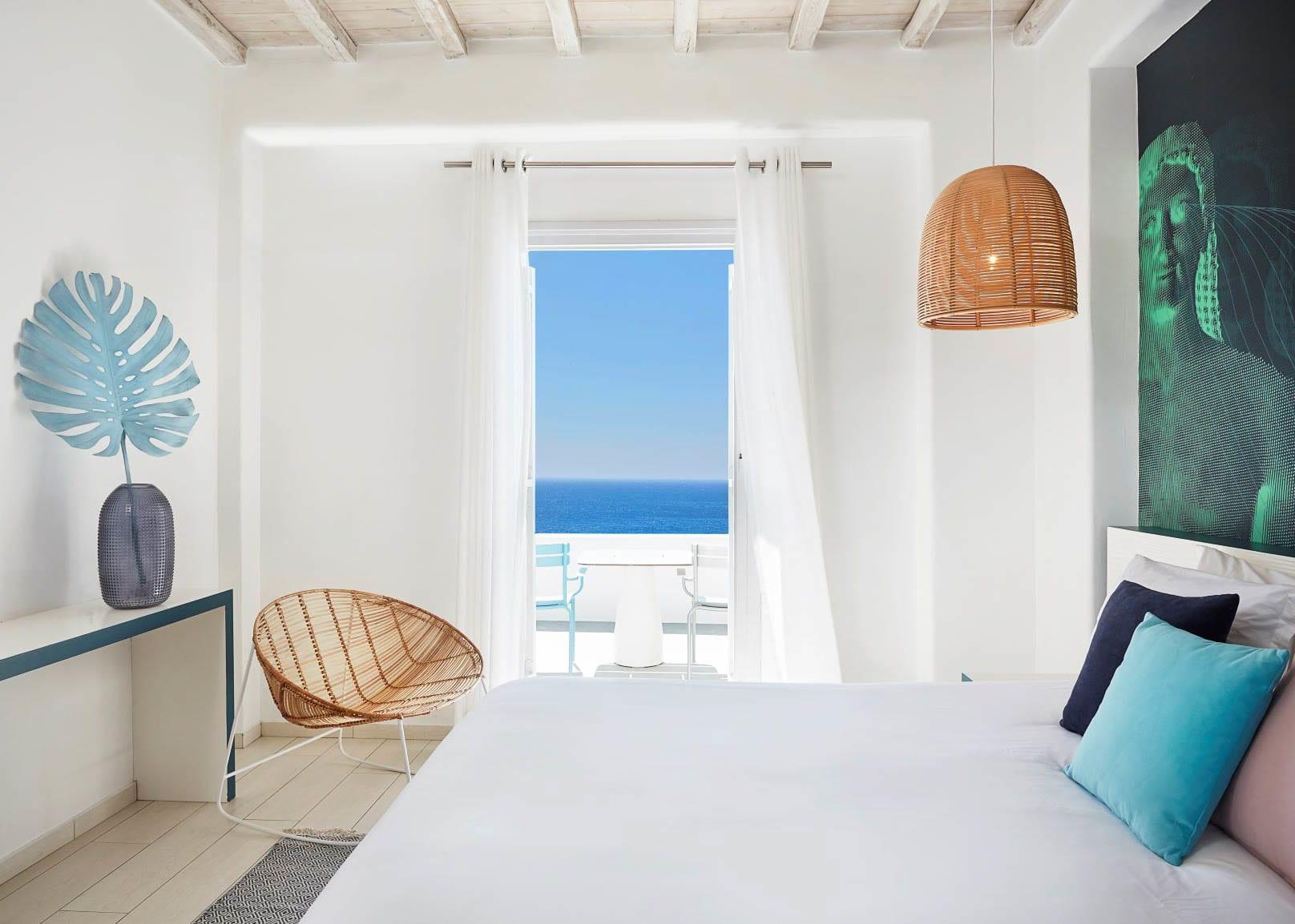 Classic double sea view balcony