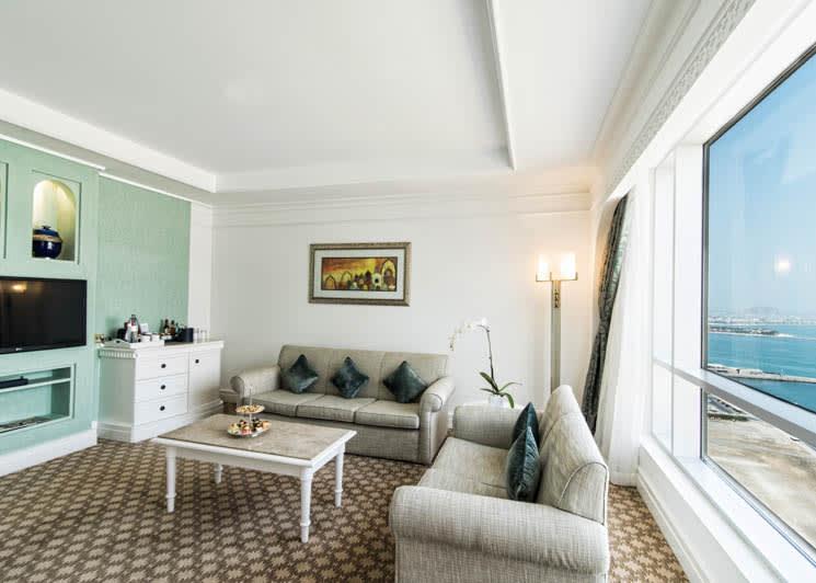 Club Suite living room