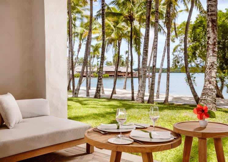 Lagoon room terrace