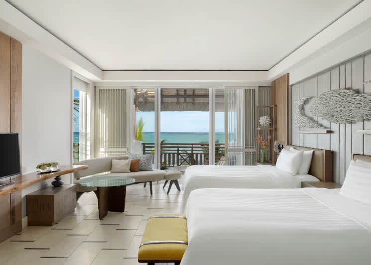 Junior Suite Frangipani Club Ocean View twin