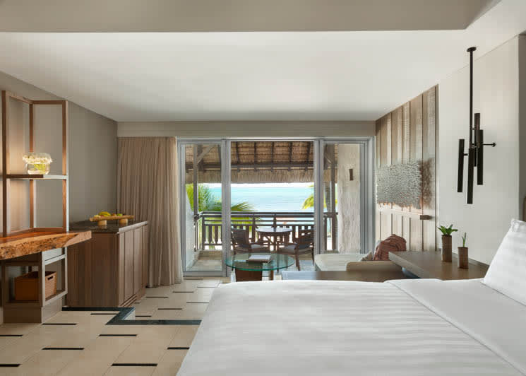 Deluxe Coral Room Ocean View King Bedroom