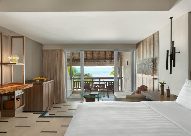 Deluxe Coral Room Ocean View King Bedroom