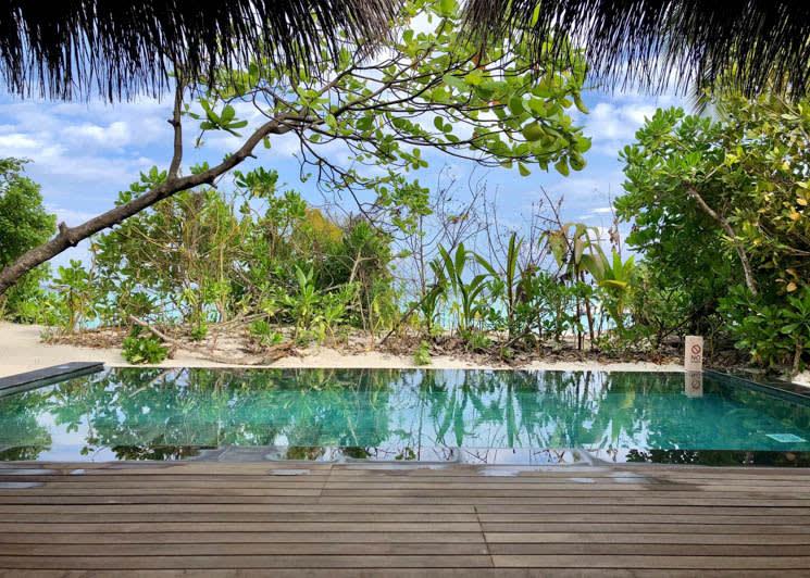 2 Bed Beach Pool Villa view