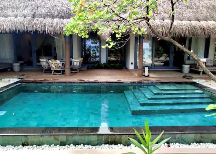 Two Bed Beach Pool Villa