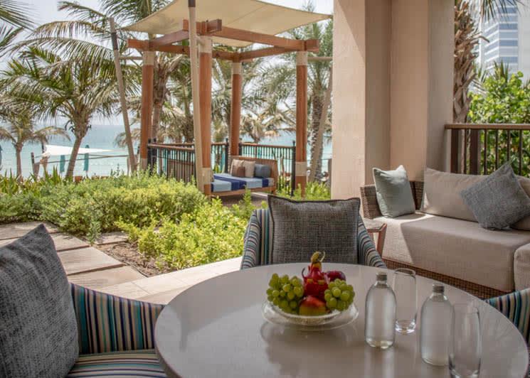 Jumeirah Al Naseem   Gulf Ocean Suite   Terrace
