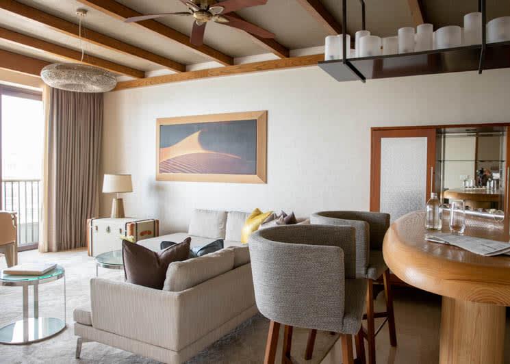 Jumeirah Al Naseem   Ocean Suite   Living Room