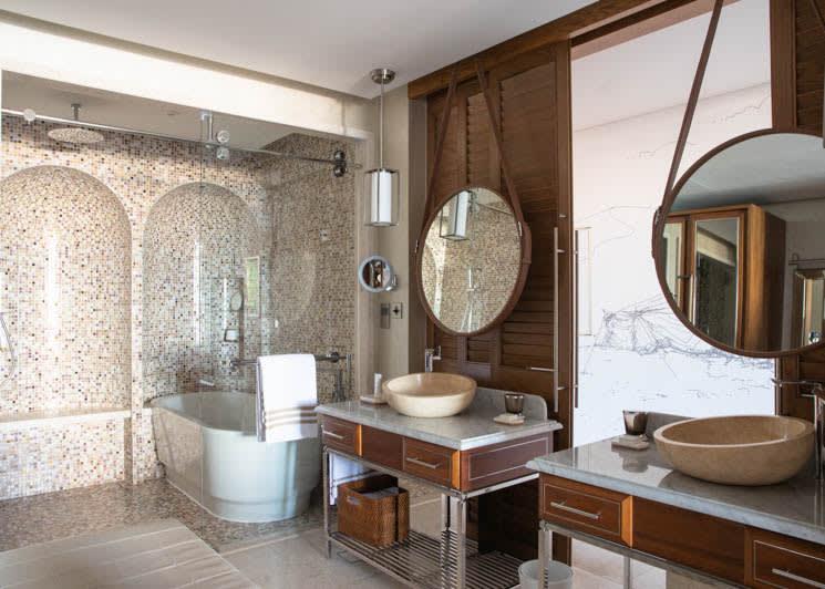 Jumeirah Al Naseem   Ocean Terrace Suite Bathroom 2