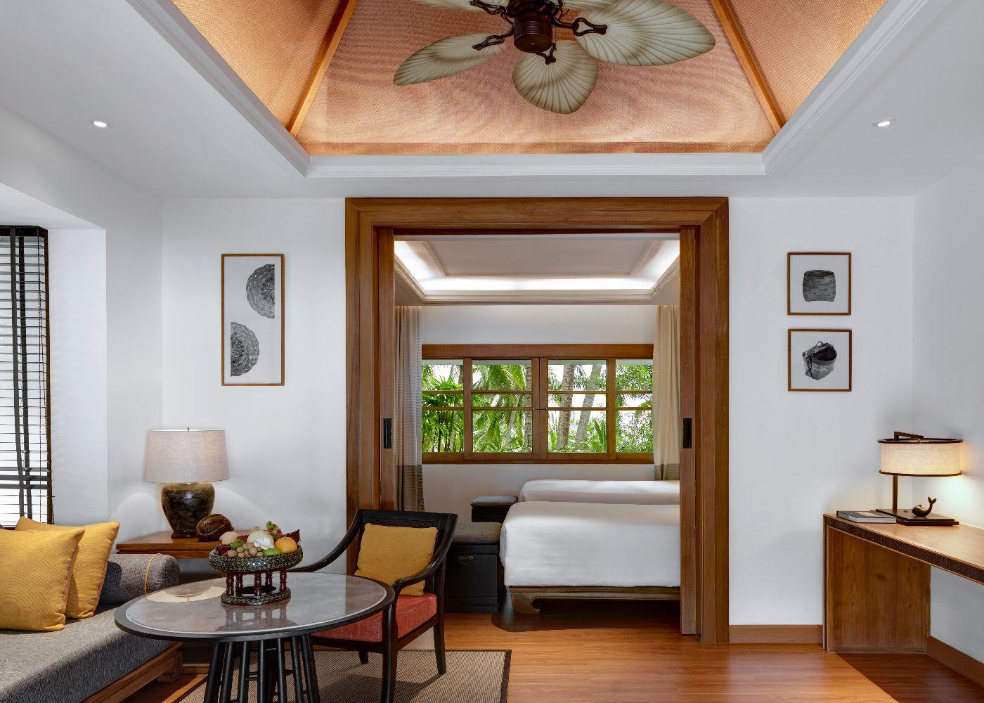 Two Bedroom Grand Deluxe Beachfront Villa