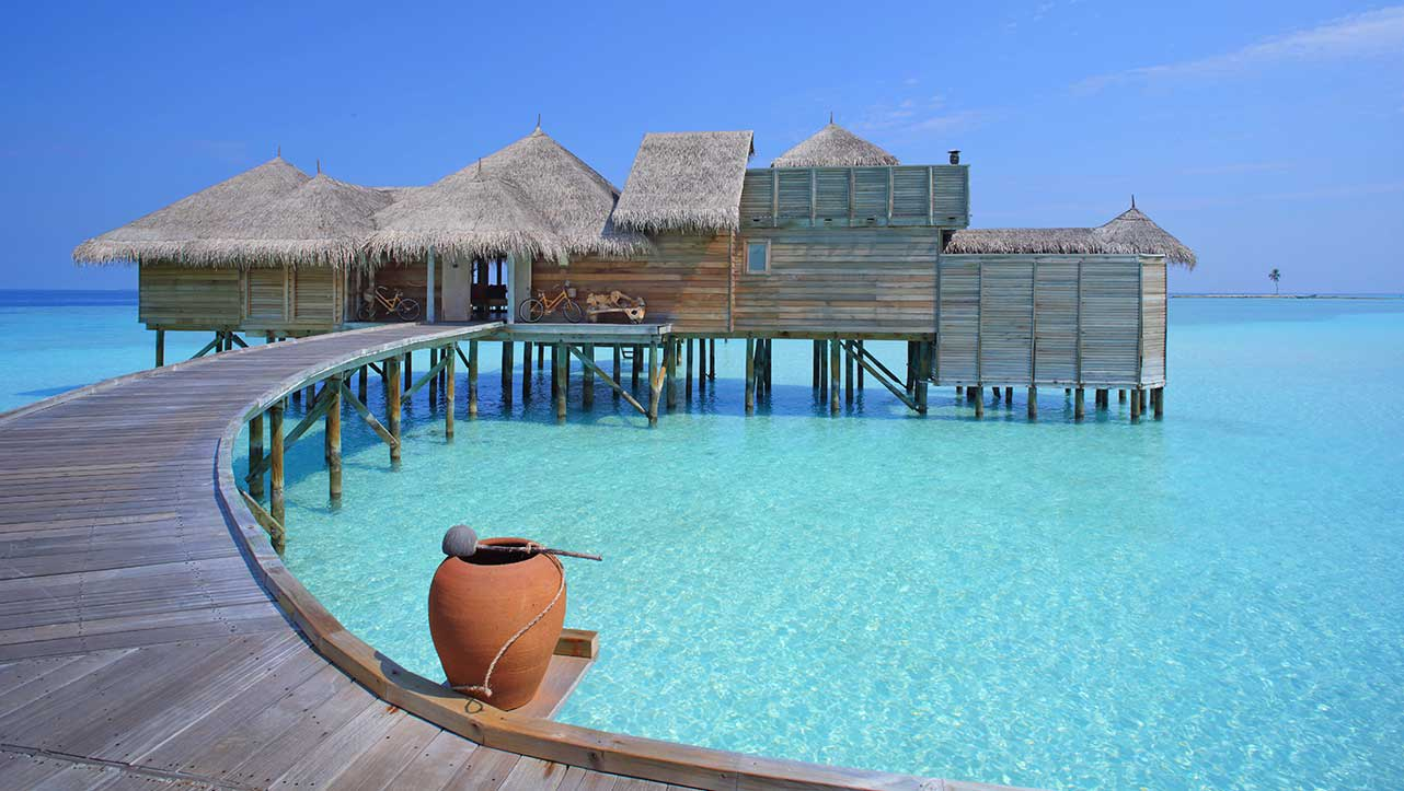 Gili lagoon residence entrance