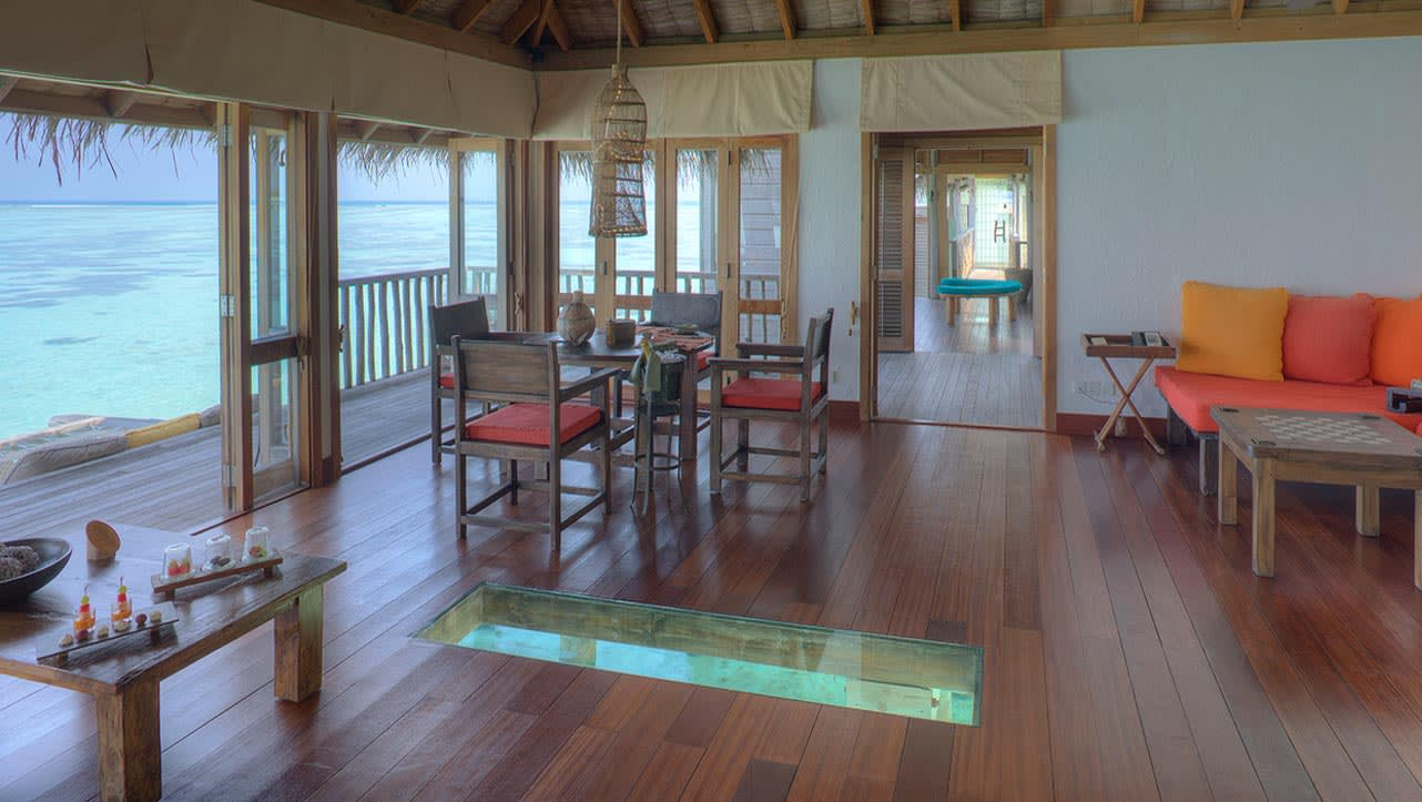 Gili lagoon residence interior
