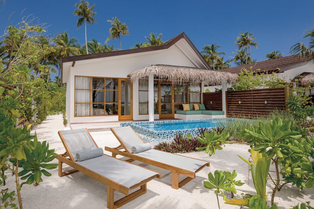 2 bed beach pool suite exterior