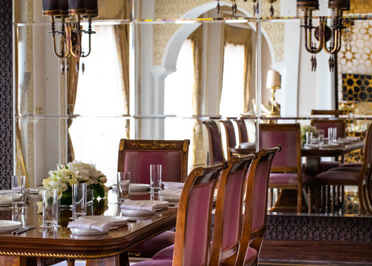 Grand Imperial Suite dining