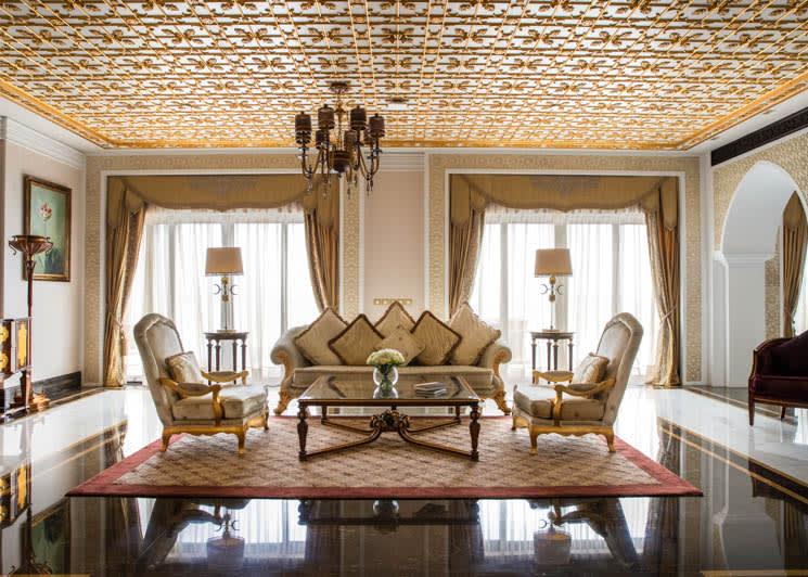 Grand Imperial Suite living