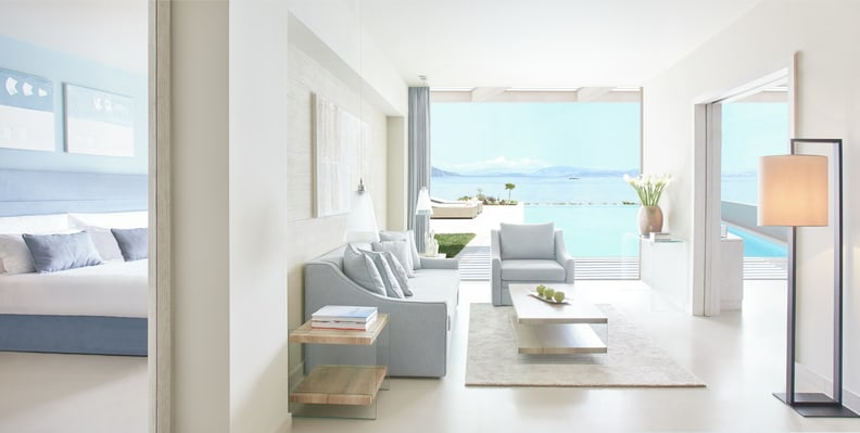 Deluxe Two Bedroom Suite Private Pool Beachfront