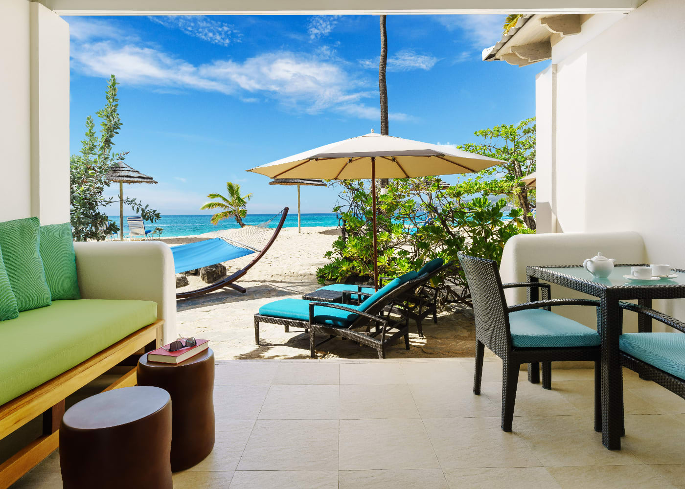 Seagrape Beach Suite Patio