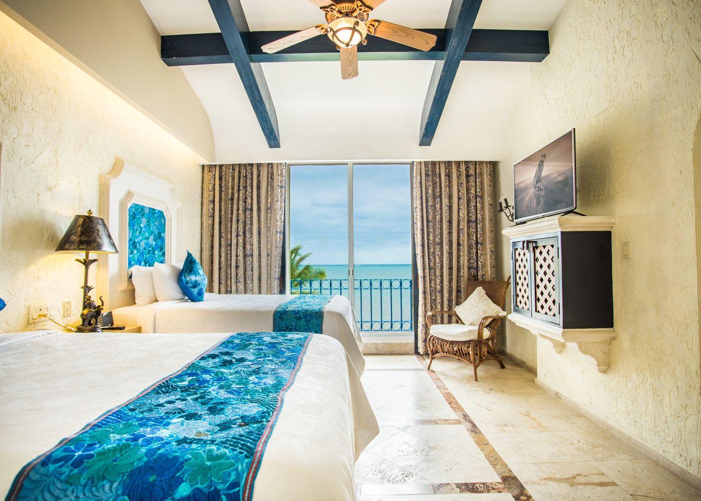 Ocean Front One Bedroom Suite with Terrace