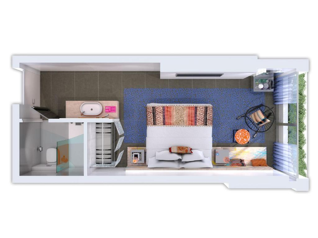 Cosy room floorplan