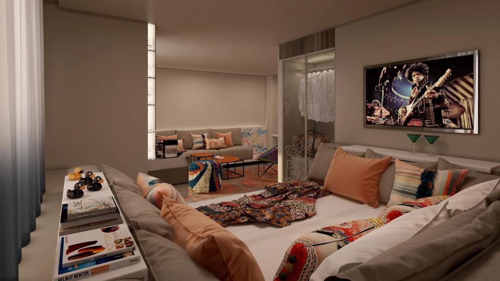 Cool corner room