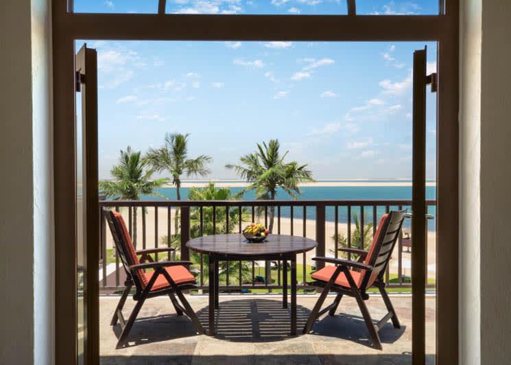 Sea View Junior Suite balcony