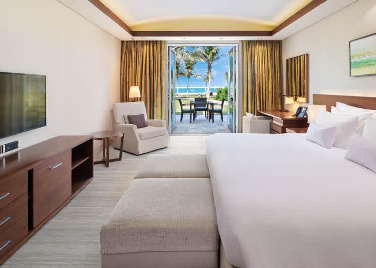 Sea View Residence Junior Suite bedroom