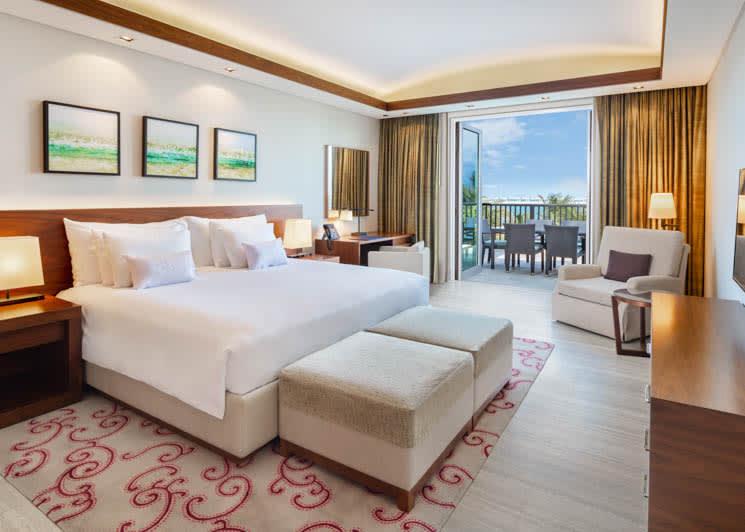 Sea View Residence Two Bedroom Suite bedroom