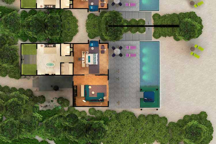 SBV with Pool plan